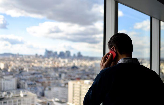 Zakelijke telefonie aan huis